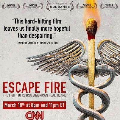 Escape Fire airs Saturday, March 16, on CNN