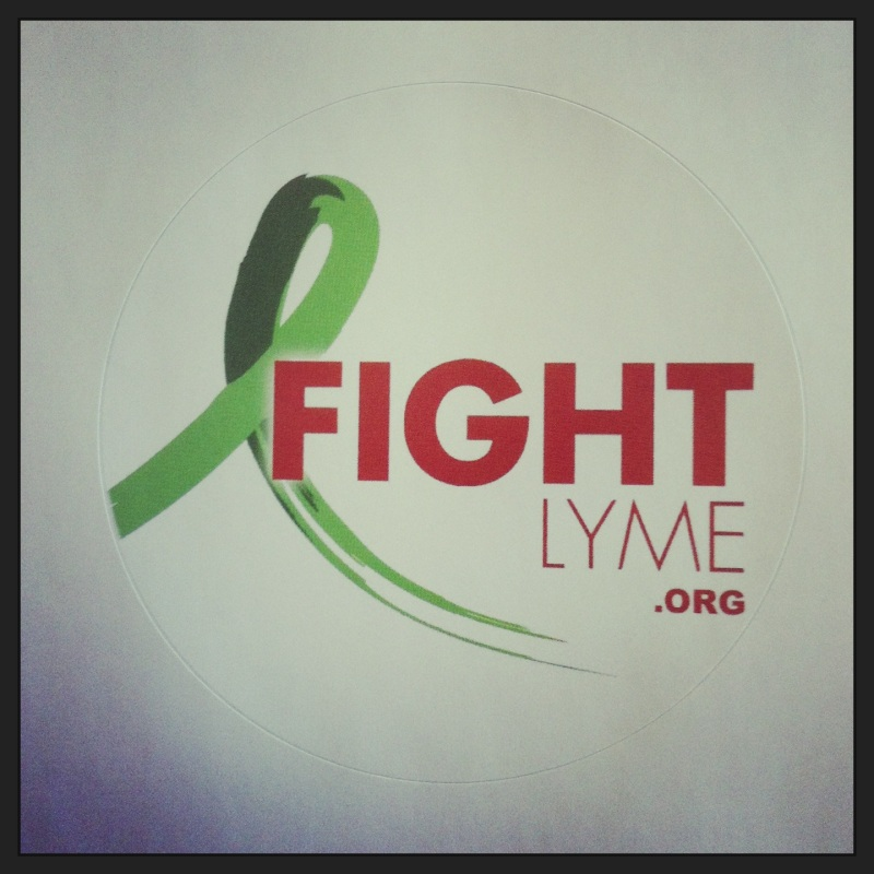 Fight Lyme Sticker
