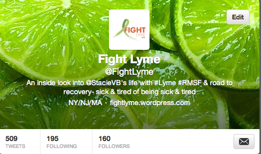 Fight Lyme on Twitter