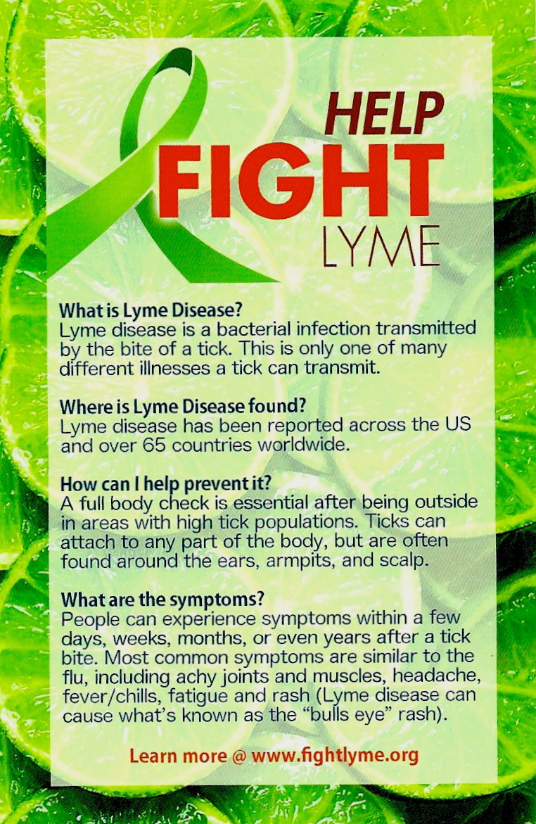 Fight Lyme Info Cards