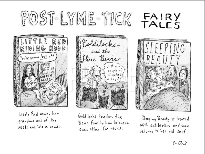 """Post-Lyme-Tick Fairy Tales"" - Roz Chast"