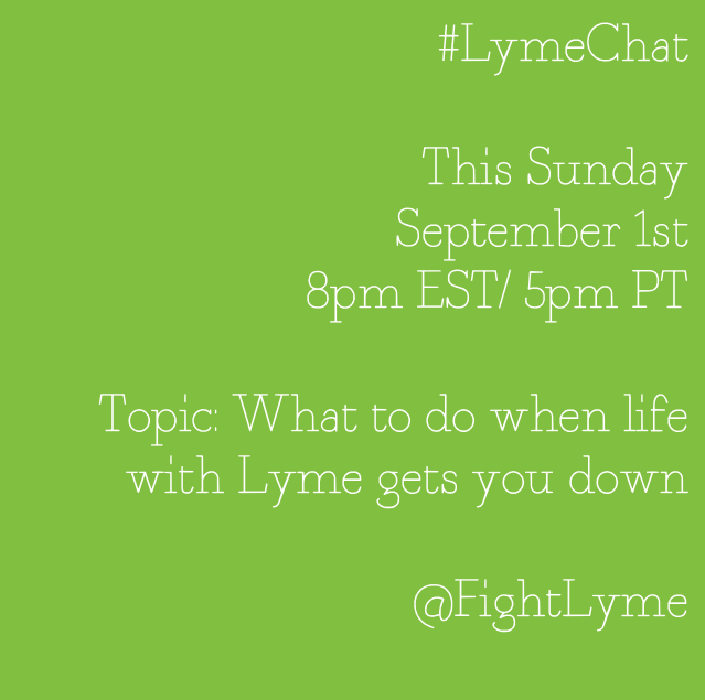 Lyme Chat 9-1-13 topic